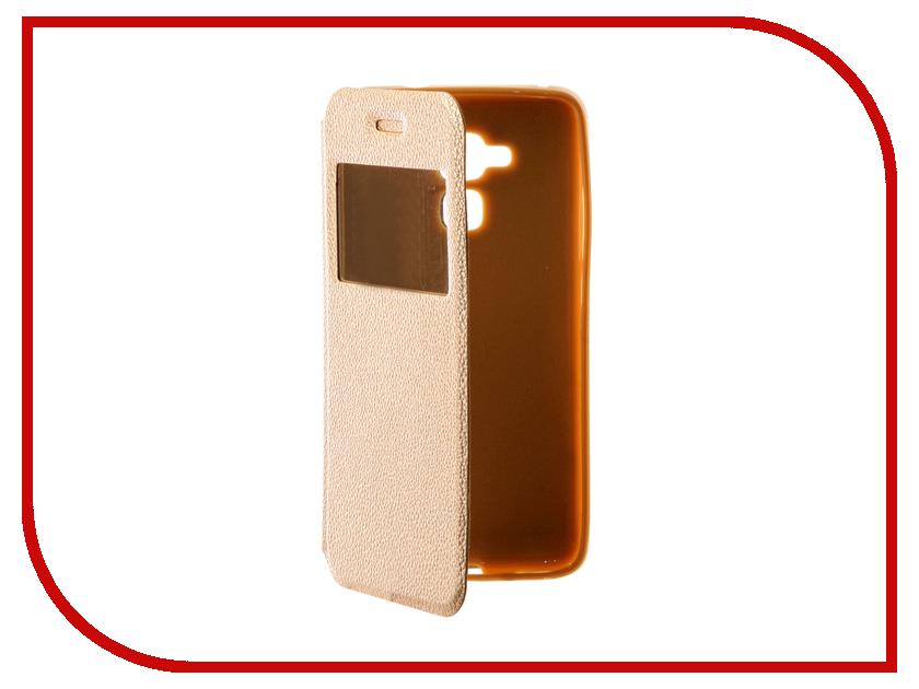 Аксессуар Чехол Huawei Honor 5C Gecko Book Gold G-BOOK-HUAW-5C-GOLD
