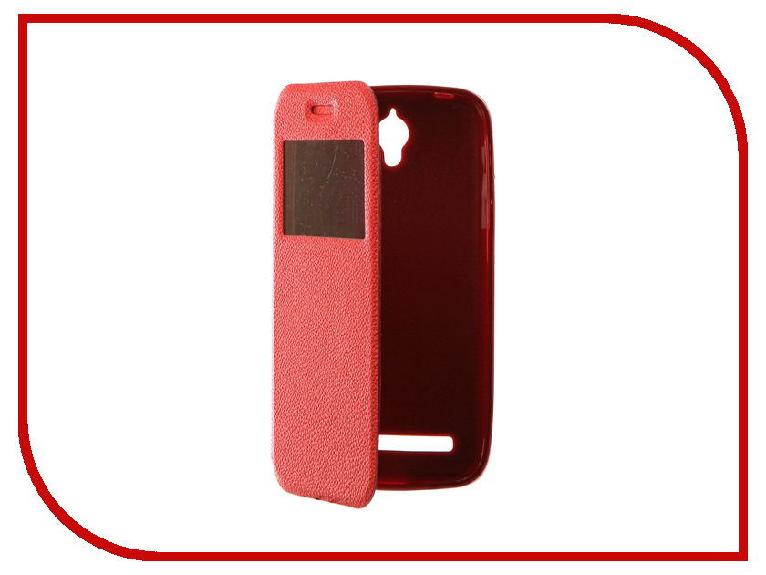 Аксессуар Чехол ASUS ZenFone Go ZC451TG Gecko Book Red G-BOOK-AS-ZC451TG-RED аксессуар чехол asus zenfone go zc451tg gecko red gg f aszc451tg red
