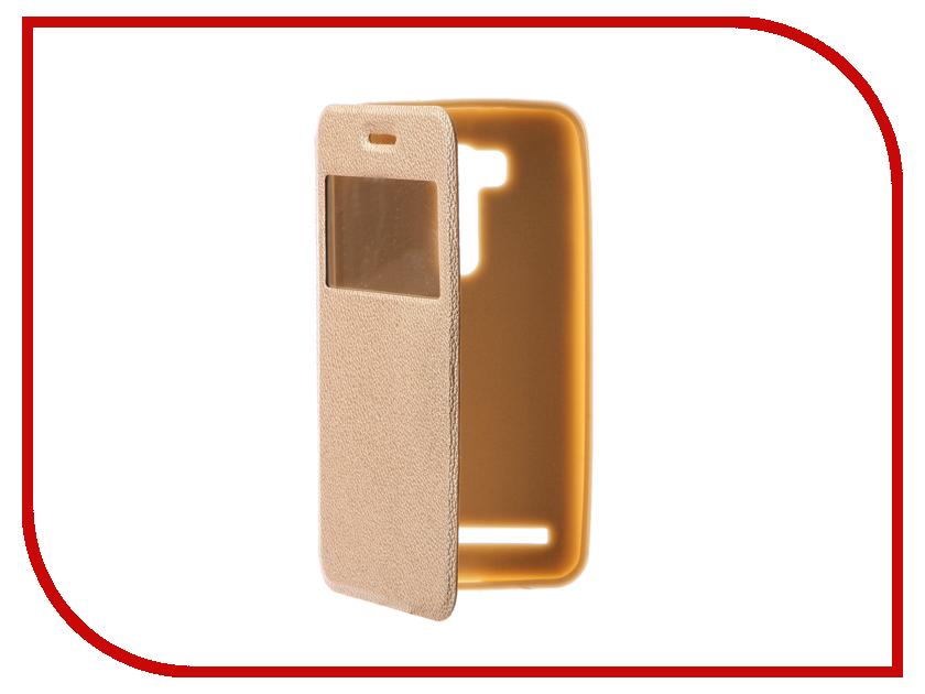 Аксессуар Чехол ASUSZenFone Go ZB551KL Gecko Book Gold G-BOOK-AS-ZB551KL-GOLD