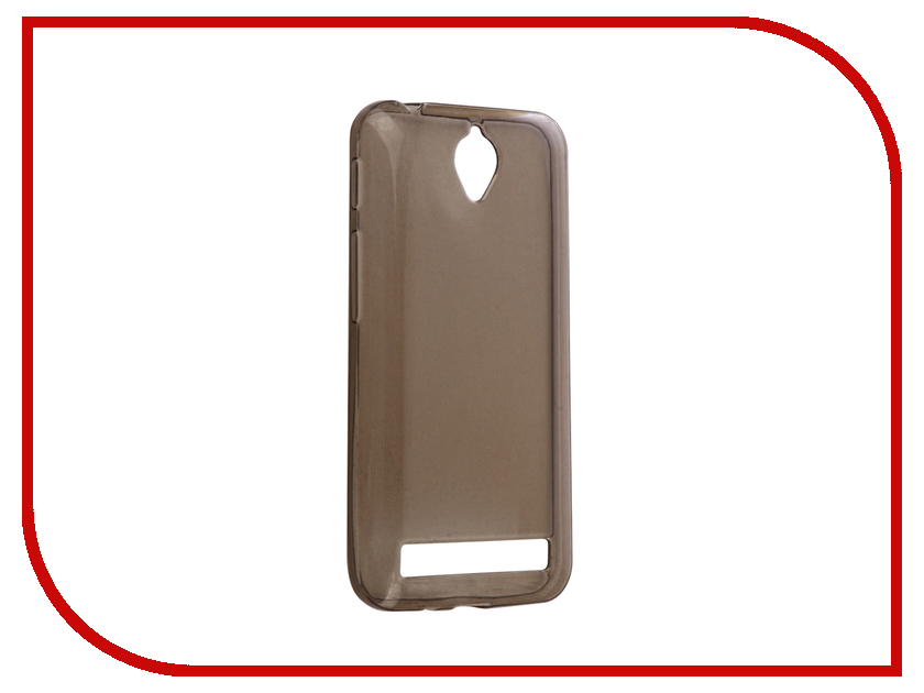 Аксессуар Чехол ASUS ZenFone Go ZC451TG Gecko Silicone Transparent-Glossy Black S-G-ASZC451TG-BL