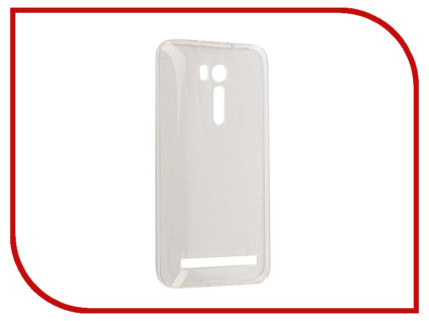 Аксессуар Чехол Gecko для ASUS ZenFone Go ZB551KL/G550 Silicone Transparent-Glossy White S-G-ASZB500KL-WH аксессуар чехол накладка asus zenfone c zc451cg gecko силиконовый transparent s g aszc451cg wh