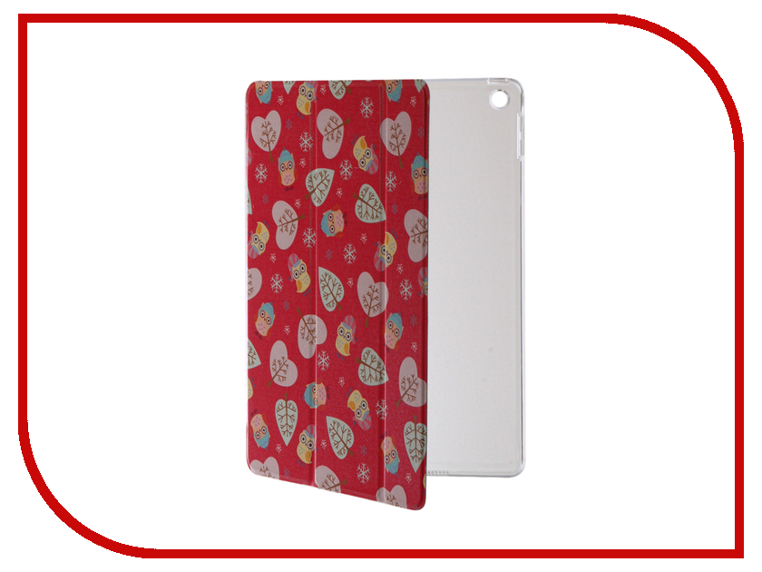 все цены на  Аксессуар Чехол Rock Annes Garden для APPLE iPad Red  онлайн