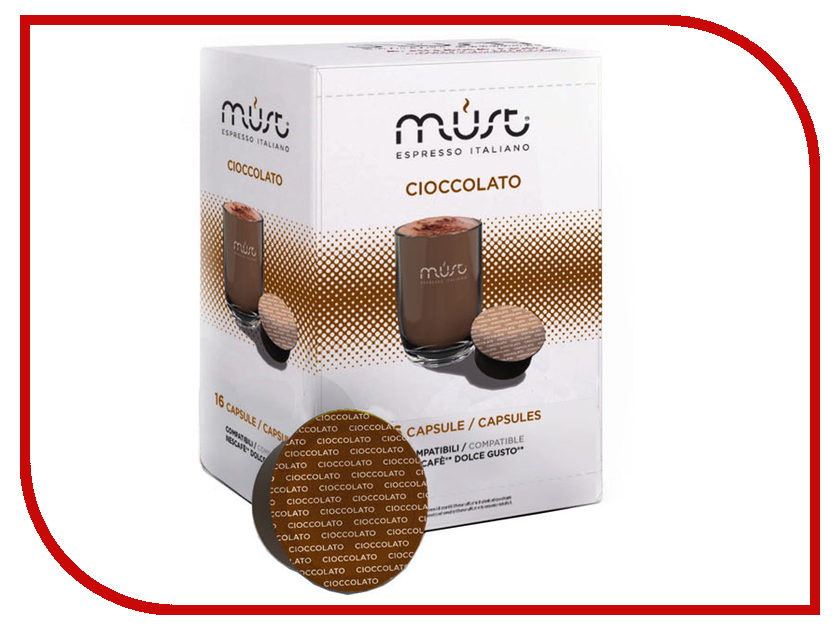 Капсулы Must Dolce Gusto Cioccolato 16шт