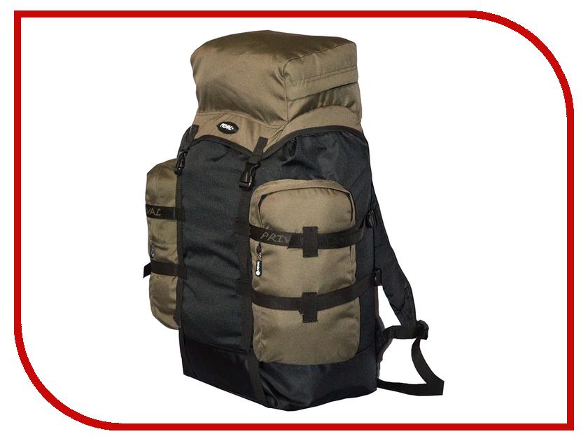 Рюкзак PRIVAL Кузьмич 70 Khaki-Black