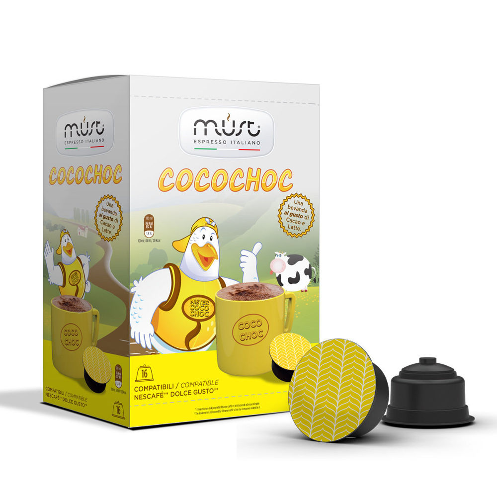 Капсулы Must Dolce Gusto Cocochoc 16шт капсулы must n napoli