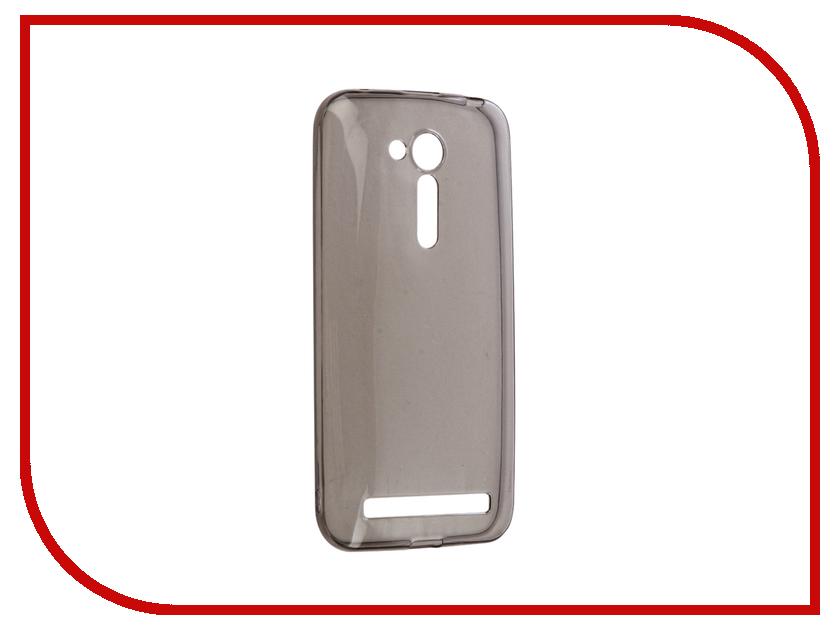Аксессуар Чехол Gecko для ASUS ZenFone Go ZB452KG/ZB450KL Silicone Transparent-Glossy Black S-G-ASZC452KG-BL