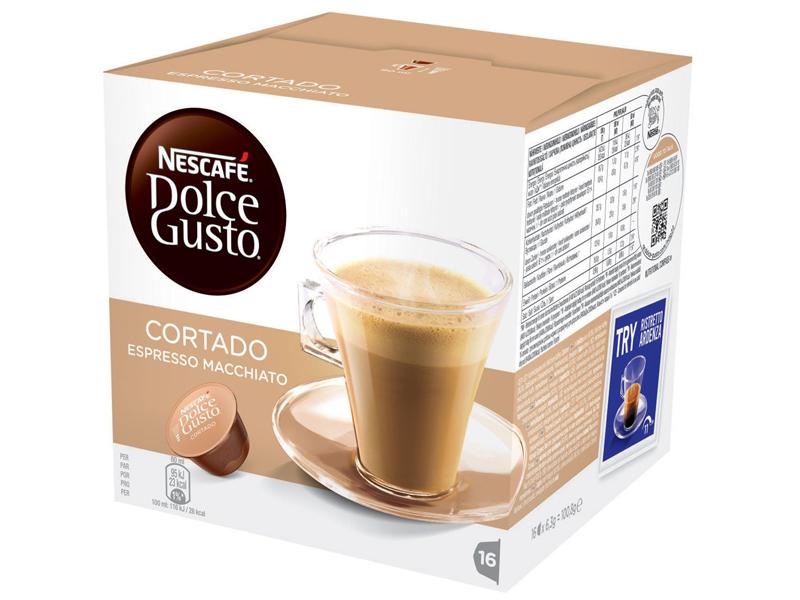 Капсулы Nescafe Dolce Gusto Cortado 16шт 12121894 капсулы nescafe dolce gusto cortado 16шт 12121894