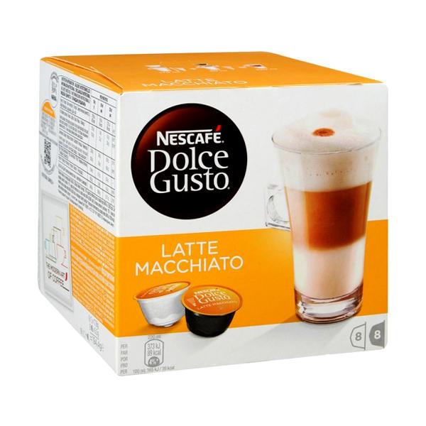 Капсулы Nescafe Dolce Gusto Latte Macchiato 16шт 12378380