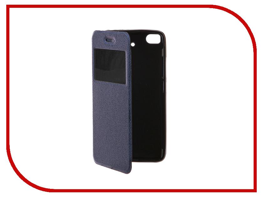 Аксессуар Чехол Xiaomi Mi5S Gecko Book Blue G-BOOK-XIAM-5S-DBLU аксессуар чехол xiaomi redmi note 3 gecko book black g book xiam n3 bl