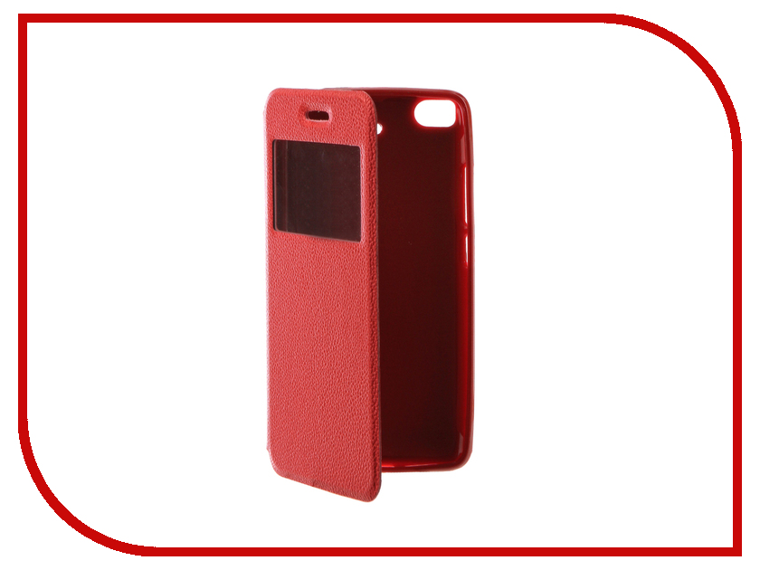 Аксессуар Чехол Xiaomi Mi5S Gecko Book Red G-BOOK-XIAM-5S-RED аксессуар чехол xiaomi mi5s gecko book red g book xiam 5s red