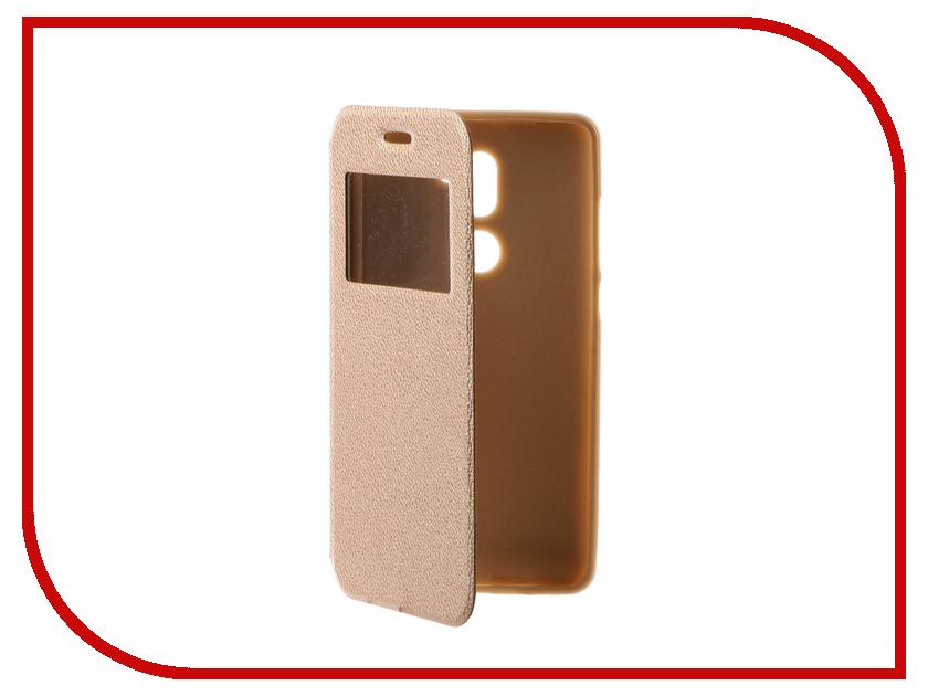 Аксессуар Чехол Xiaomi Mi5S Plus Gecko Book Gold G-BOOK-XIAM-5SPL-GOLD аксессуар чехол xiaomi mi5s gecko book red g book xiam 5s red