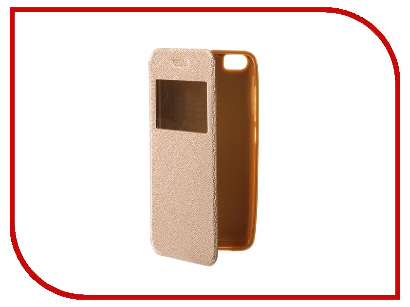 Аксессуар Чехол Xiaomi Mi5 Gecko Book Gold G-BOOK-XIAM-5-GOLD аксессуар чехол xiaomi redmi note 3 gecko book black g book xiam n3 bl