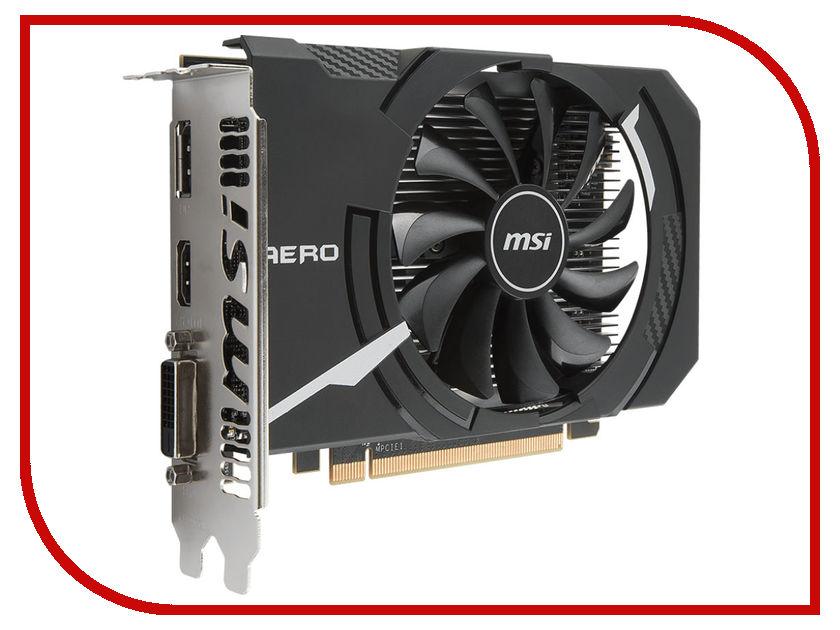 Видеокарта MSI Radeon RX 560 1196Mhz PCI-E 3.0 4096Mb 7000Mhz 128 bit DVI HDMI HDCP RX 560 AERO ITX 4G OC видеокарта asus radeon rx 570 1244mhz pci e 3 0 4096mb 7000mhz 256 bit dp dvi hdmi hdcp ex rx570 4g