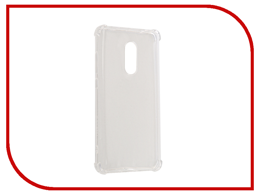 Аксессуар Чехол Xiaomi Redmi Note 4 Gecko Silicone Glowing White S-G-SV-XIRNOT4-WH<br>