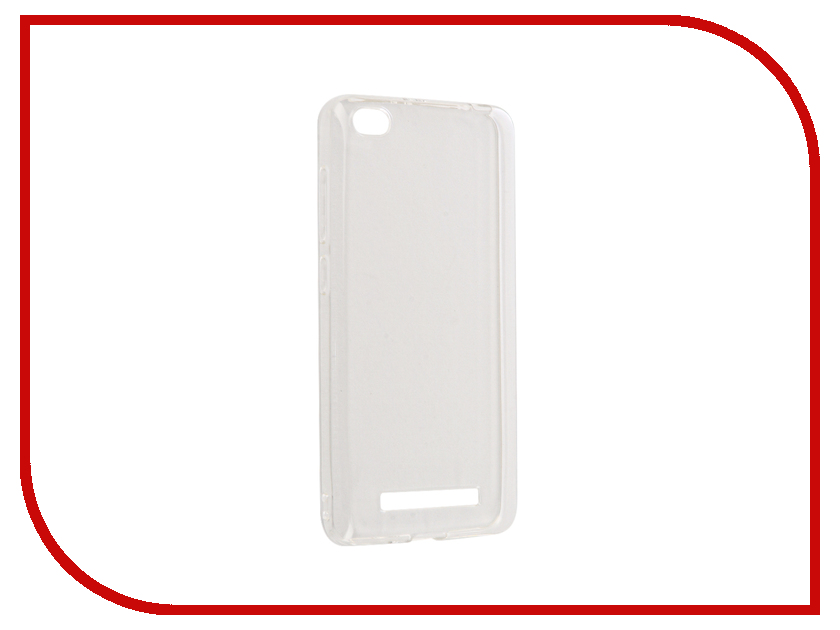 Аксессуар Чехол Xiaomi Redmi 4A Gecko Silicone Glowing White S-G-SV-XIR4A-WH s g sv xir5spl wh