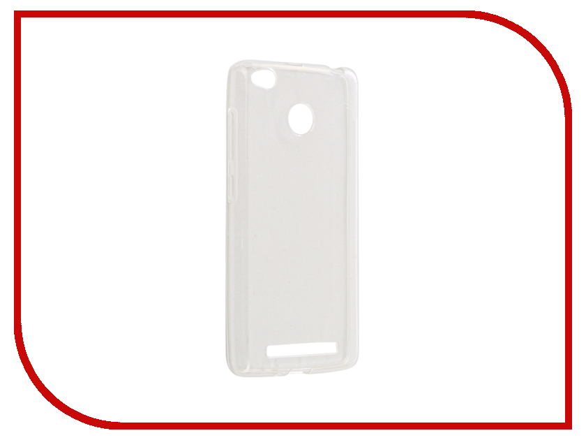 Аксессуар Чехол Xiaomi Redmi 3X Gecko Silicone Glowing White S-G-SV-XIR3X-WH аксессуар чехол xiaomi mi5c gecko silicone glowing white s g sv xir5c wh