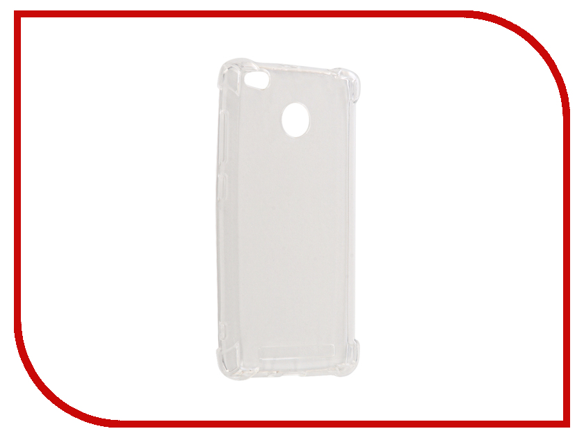 Аксессуар Чехол Xiaomi Redmi 3S Gecko Silicone Glowing White S-G-SV-XIR3S-WH аксессуар чехол xiaomi mi5c gecko silicone glowing white s g sv xir5c wh