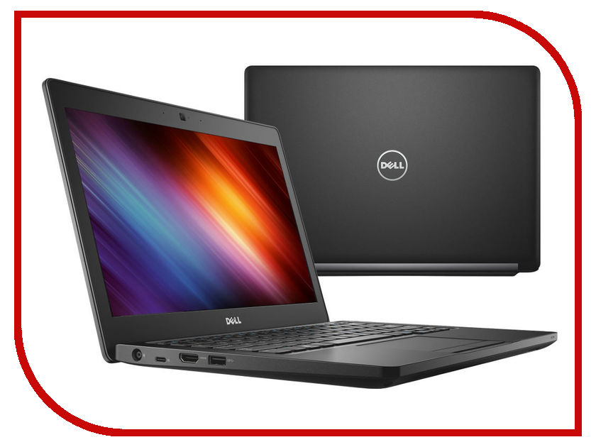 Ноутбук Dell Latitude 5280 5280-9552 (Intel Core i3-7100U 2.4 GHz/4096Mb/500Gb/No ODD/Intel HD Graphics/Wi-Fi/Bluetooth/Cam/12.5/1366x768/Linux)<br>