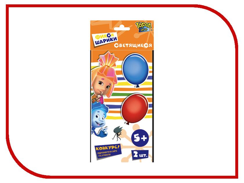 Набор воздушных шаров Город Игр Фиксики 2шт GI-6440