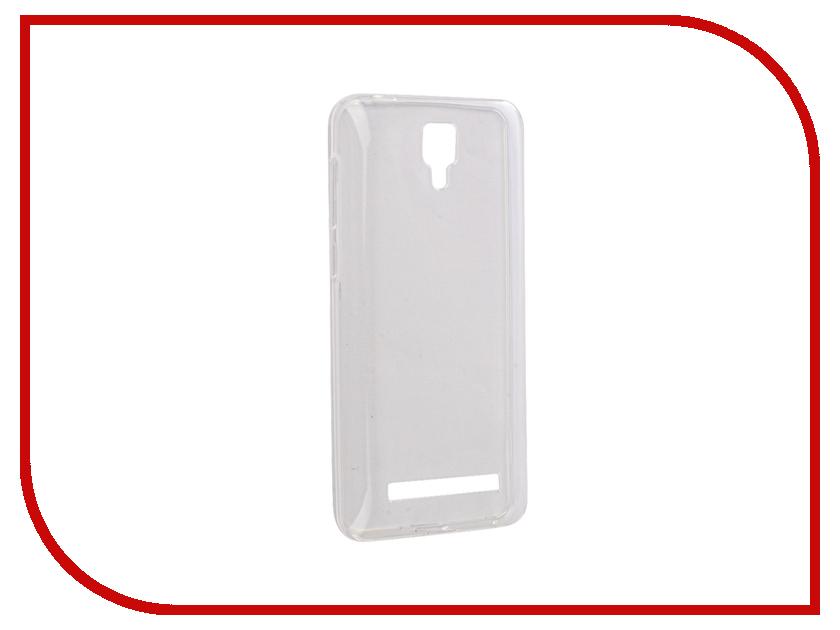 Аксессуар Чехол BQ BQS-4500L Fox LTE Gecko Transparent-Glossy White S-G-BQS4500L-WH