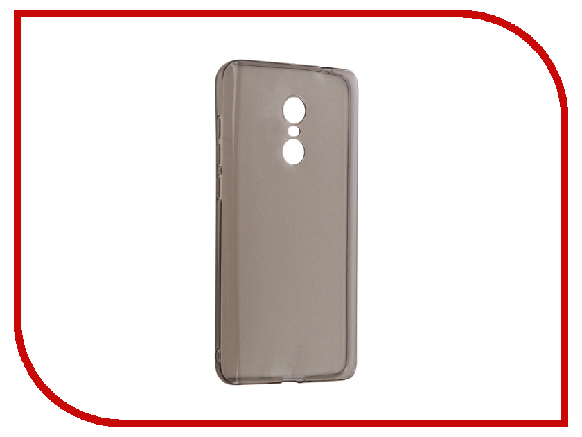 Аксессуар Чехол Xiaomi Redmi Note 4 Gecko Silicone Transparent-Glossy Black S-G-XIRMNOTE4-BL аксессуар чехол накладка sony xperia x performance gecko силиконовый black s g sonxper bl page 4