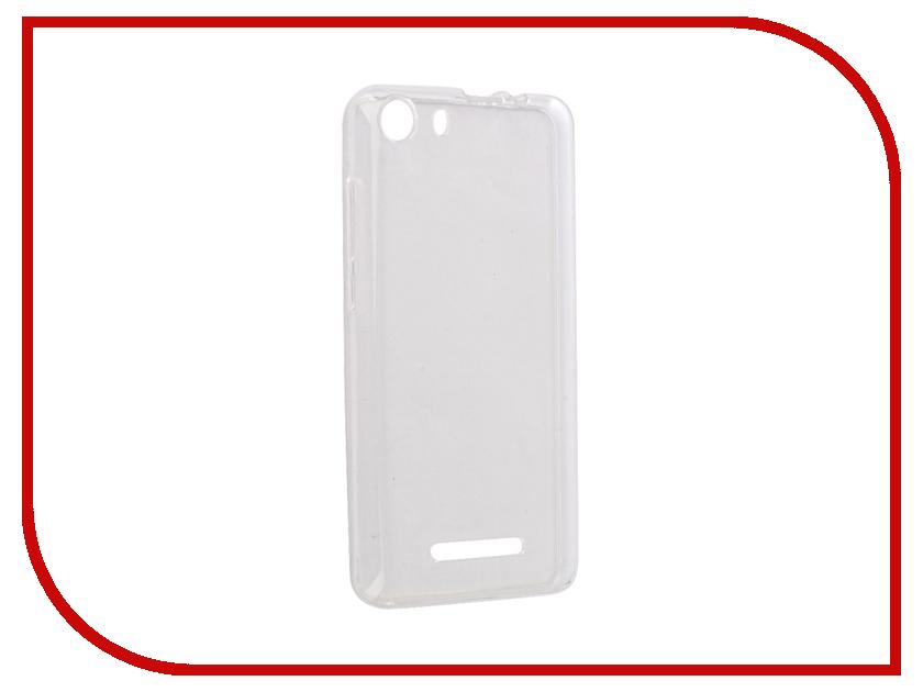 Аксессуар Чехол BQ BQS-5065 Choice Gecko Transparent-Glossy White S-G-BQS5065-WH