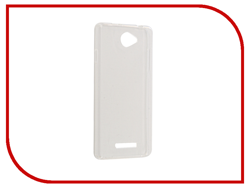 Аксессуар Чехол BQ BQS-5070 Magic Gecko Transparent-Glossy White S-G-BQS5070-WH аксессуар чехол bq bqs 5070 magic zibelino classico black zcl bq bqs 5070 blk