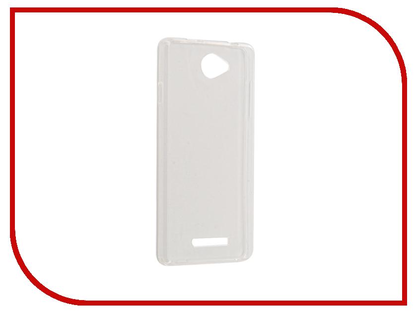 Аксессуар Чехол для BQ BQS-5070 Magic Gecko Transparent-Glossy White S-G-BQS5070-WH
