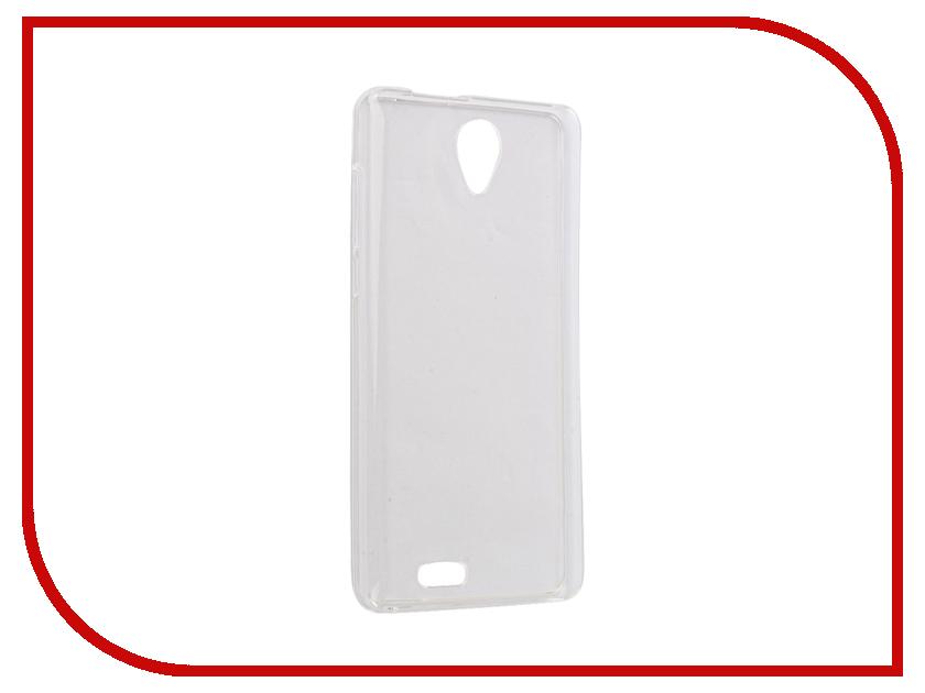Аксессуар Чехол BQ BQS-5515 Wide Gecko Transparent-Glossy White S-G-BQS5015-WH