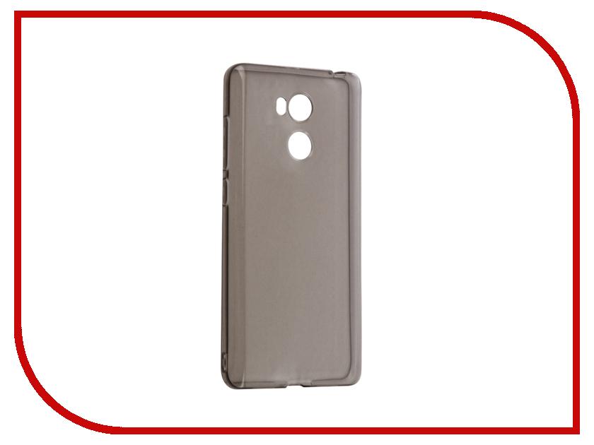Аксессуар Чехол Xiaomi Redmi 4 Prime / 4 Gecko Silicone Pro Transparent-Glossy Black S-G-XIR4PRIME-BL чехол накладка meizu pro 6 gecko black s g meipr6 bl