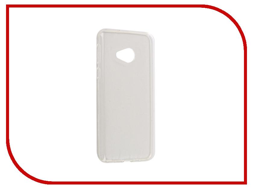 Аксессуар Чехол HTC U Play / Alpine Gecko Transparent-Glossy White S-G-HTCUPL-WH
