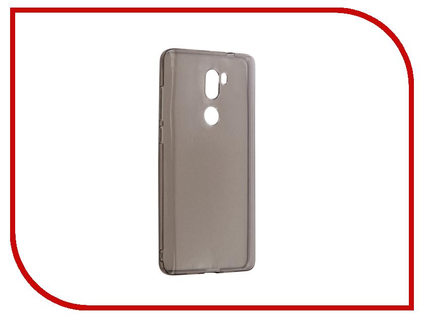 Аксессуар Чехол Xiaomi Mi5S Plus Gecko Silicone Transparent-Glossy Black S-G-XIMI5SPL-BL ximi mini