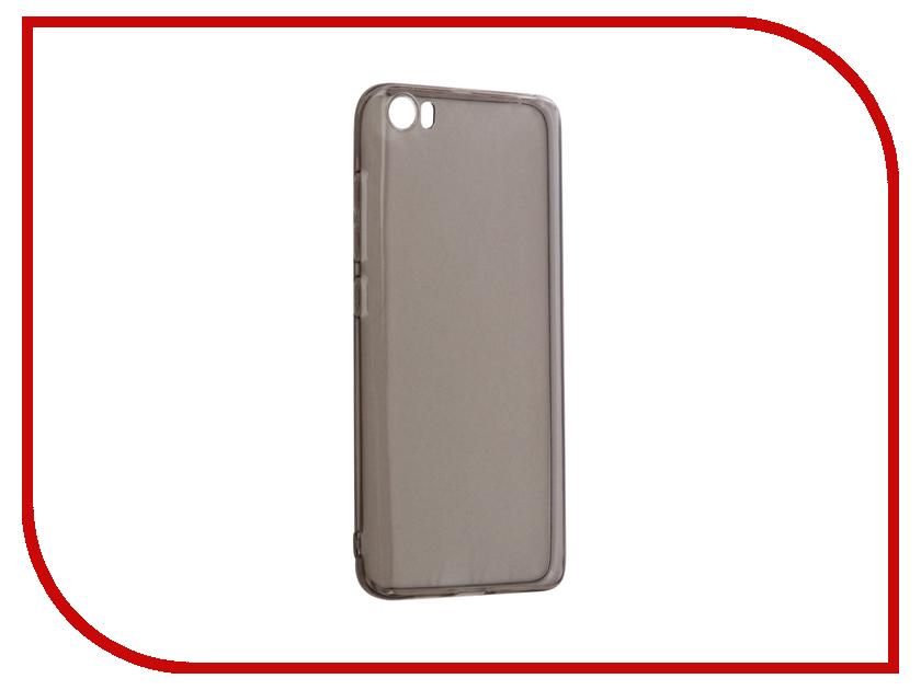 Аксессуар Чехол Xiaomi Mi5 Gecko Silicone Transparent-Glossy Grey S-G-XIMI5-GRAY