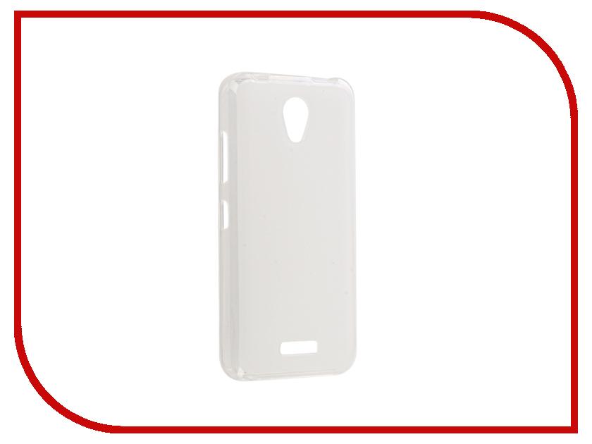 Аксессуар Чехол для Lenovo A Plus A1010 / Vibe B A2016 Gecko Transparent-Glossy White S-G-LENA1010-WH wh set b