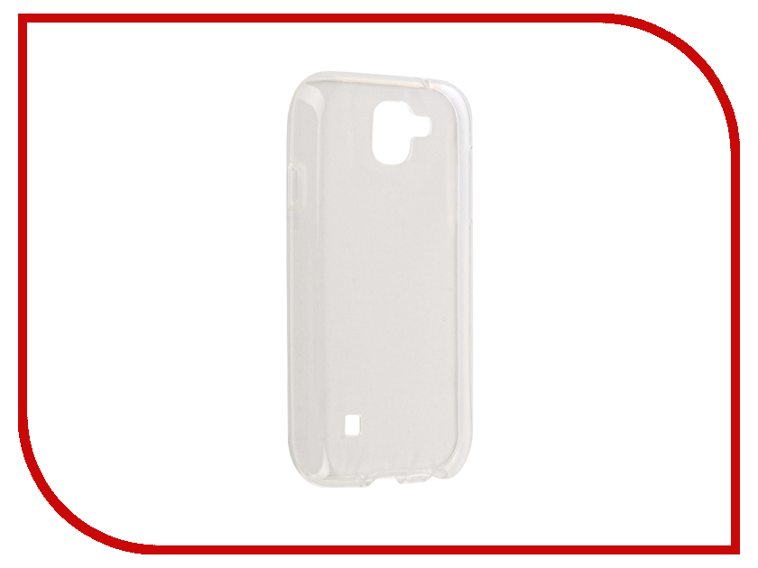 Аксессуар Чехол LG K3 K100 Gecko Transparent-Glossy White S-G-LGK3-WH аксессуар чехол samsung galaxy a7 a720f 2017 gecko transparent glossy white s g sga7 2017 wh