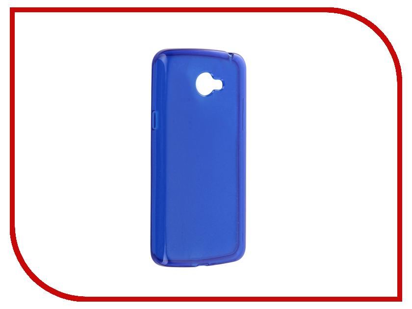 Аксессуар Чехол LG K5 X220ds Gecko Transparent-Glossy Blue S-G-LGK5-DBLU lg k5 x220ds black gold