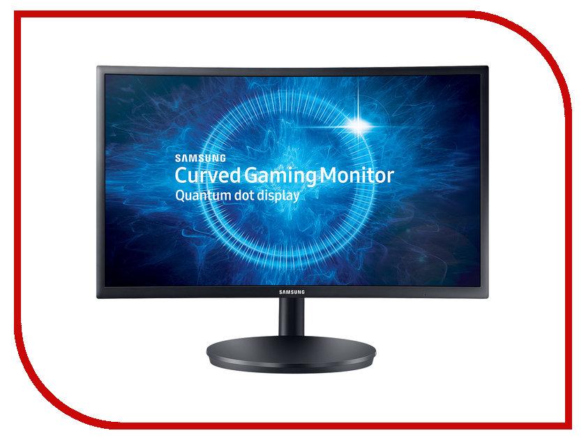 Монитор Samsung C24FG70FQI Dark-Grey звуковая карта espada c media hs100 fg uau01a 1ab ct21 fg uau01a 1ab bc21
