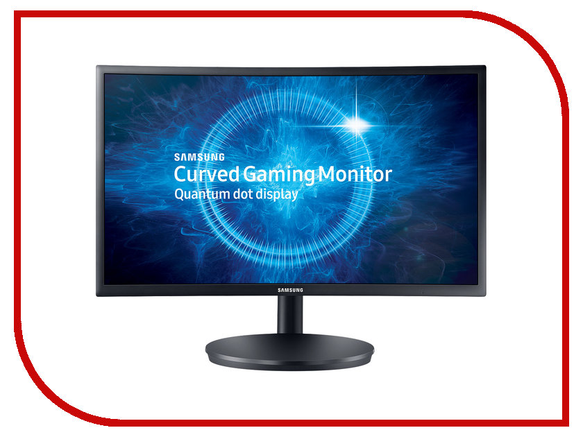 Монитор Samsung C24FG70FQI Dark-Grey монитор samsung s23e200b black