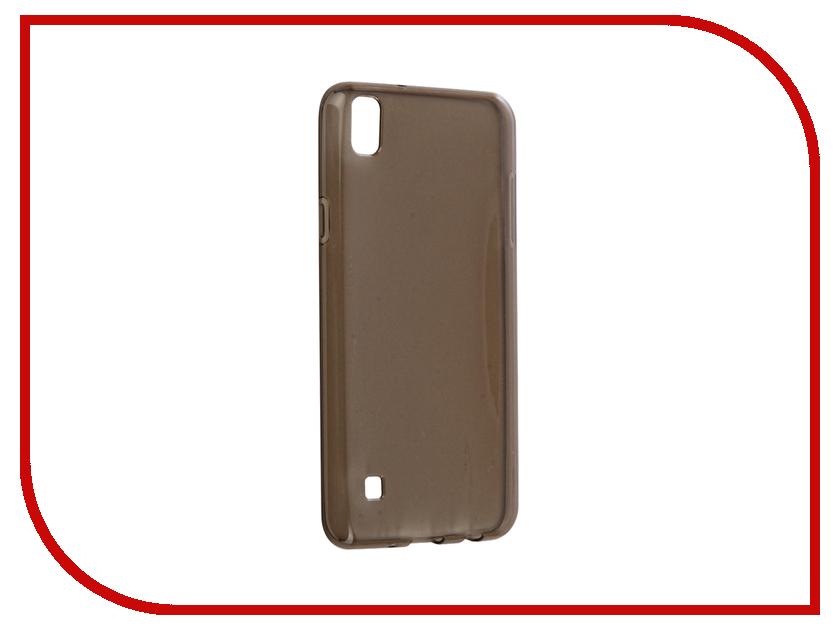Аксессуар Чехол LG X Style Gecko Transparent-Glossy Black S-G-LGXS-BL стоимость