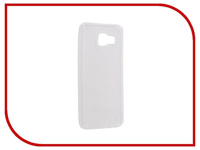 Аксессуар Чехол Samsung Galaxy A3 A310F 2016 Gecko Transparent-Glossy White S-G-SGA3-2016-WH аксессуар чехол samsung galaxy j5 prime g570 gecko white s g sgj5pr wh