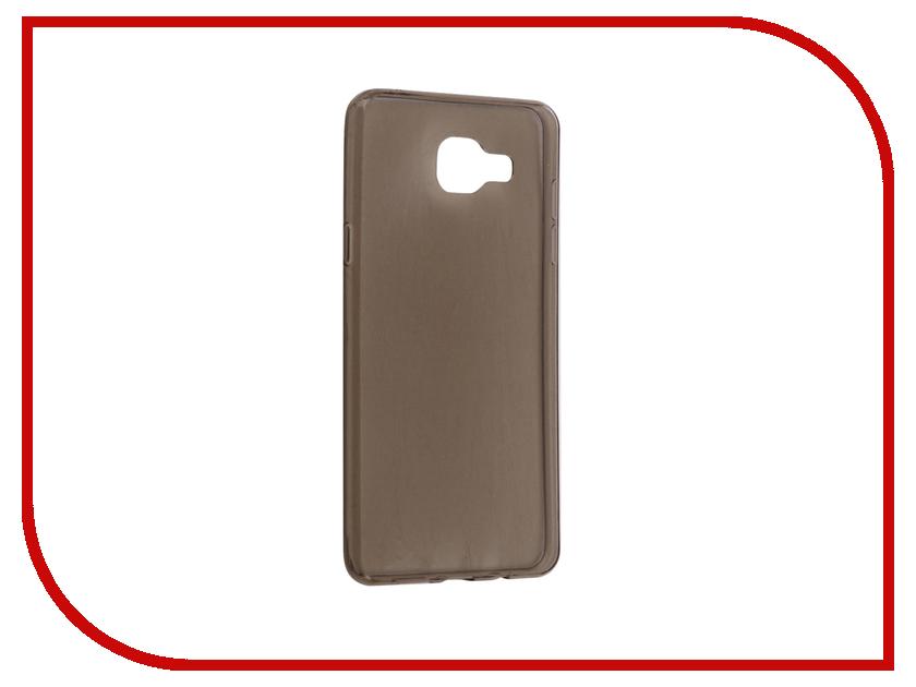 Аксессуар Чехол-накладка Samsung Galaxy A5 A510F 2016 Gecko Transparent-Glossy Grey S-G-SGA5-2016-GRAY аксессуар чехол накладка gecko for samsung galaxy e5 e500h силиконовый transparent