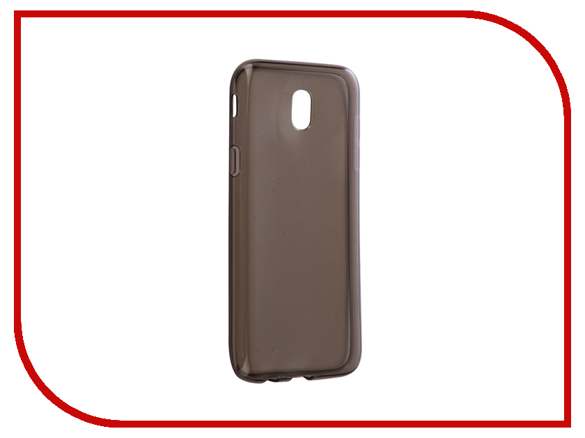 Аксессуар Чехол Samsung Galaxy J5 J530 2017 Gecko Transparent-Glossy Black S-G-SGJ5-2017-BL