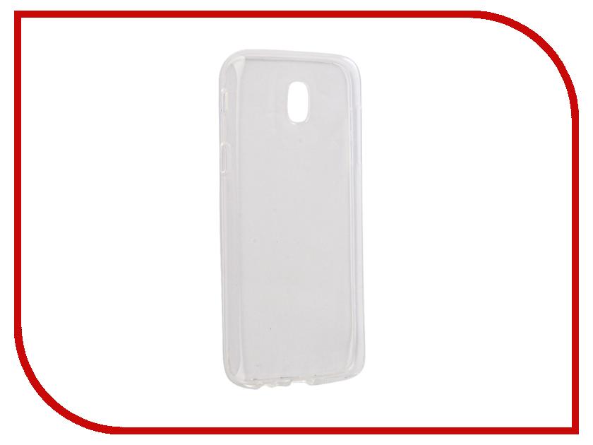 Аксессуар Чехол Samsung Galaxy J5 J530 2017 Gecko Transparent-Glossy White S-G-SGJ5-2017-WH аксессуар чехол samsung galaxy j5 prime g570 gecko white s g sgj5pr wh