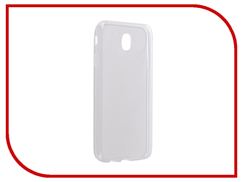 Аксессуар Чехол для Samsung Galaxy J7 J730 2017 Gecko Transparent-Glossy White S-G-SGJ7-2017-WH free shipping dental loupes 6 times 5 times 4 times doctor s surgery magnifying glass surgical orthopedic spine