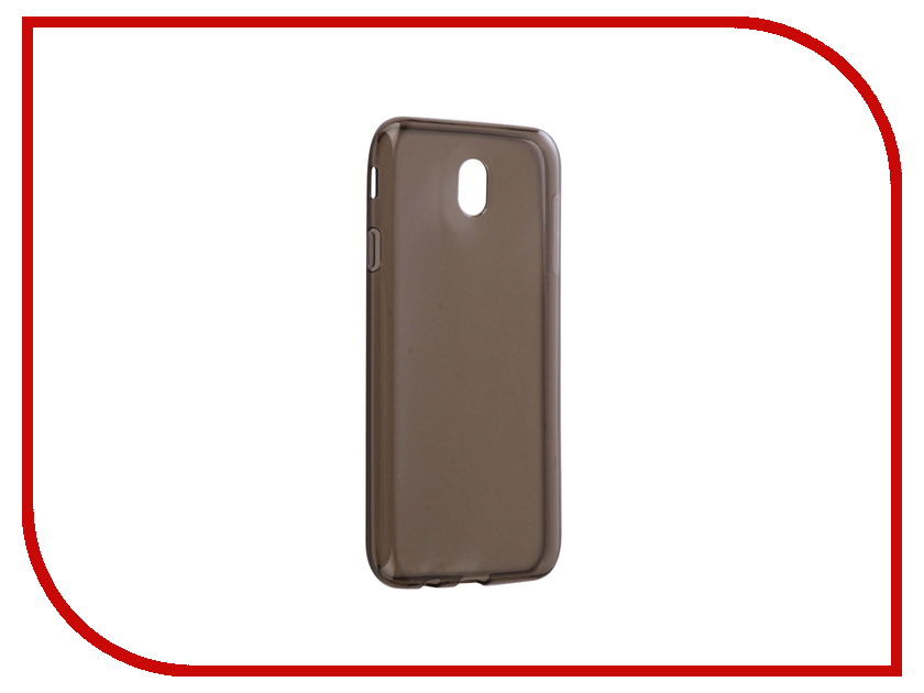 Аксессуар Чехол Samsung Galaxy J7 J730 2017 Gecko Transparent-Glossy Black S-G-SGJ7-2017-BL