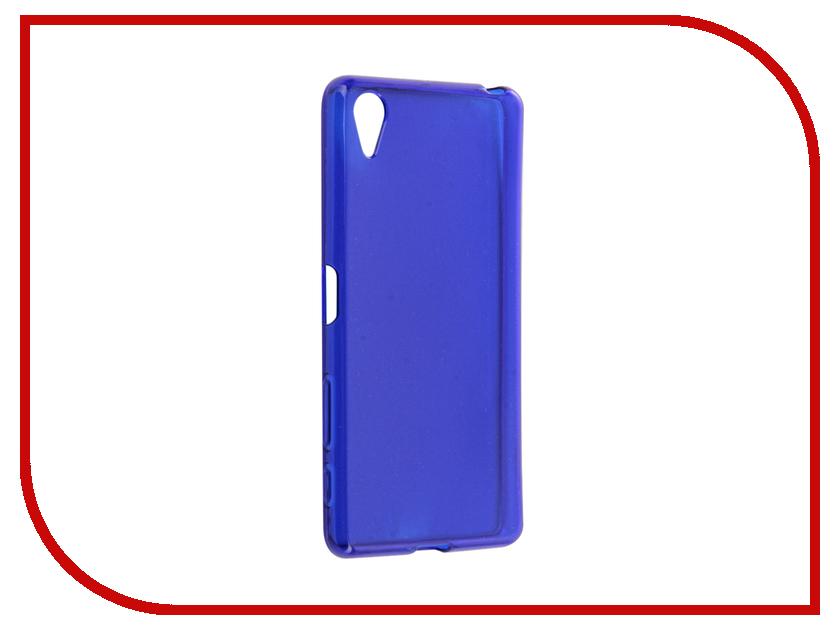 Аксессуар Чехол Sony Xperia X Gecko Transparent-Glossy Blue S-G-SONX-DBLU
