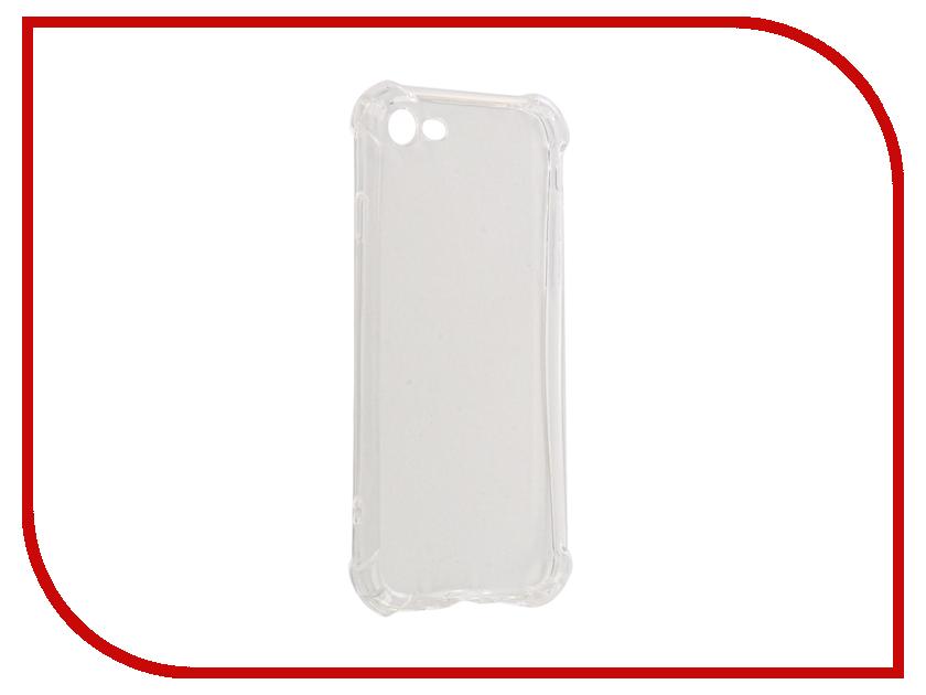 Аксессуар Чехол Gecko для APPLE iPhone 7S 4.7-inch Silicone Glowing White S-G-SV-APPLE7S-WH аксессуар чехол gecko для apple iphone 6 blue