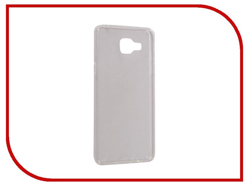 Аксессуар Чехол Samsung Galaxy A5 A510F 2016 Gecko Silicone Glowing White S-G-SV-SAMA5-WH аксессуар чехол samsung galaxy j5 prime g570 gecko white s g sgj5pr wh