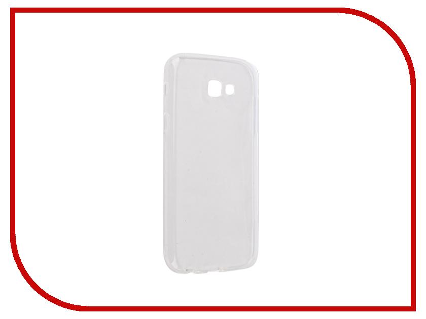Аксессуар Чехол Samsung Galaxy A7 A720F 2017 Gecko Silicone Glowing White S-G-SV-SAMA7-2017-WH аксессуар чехол samsung galaxy j5 prime g570 gecko white s g sgj5pr wh