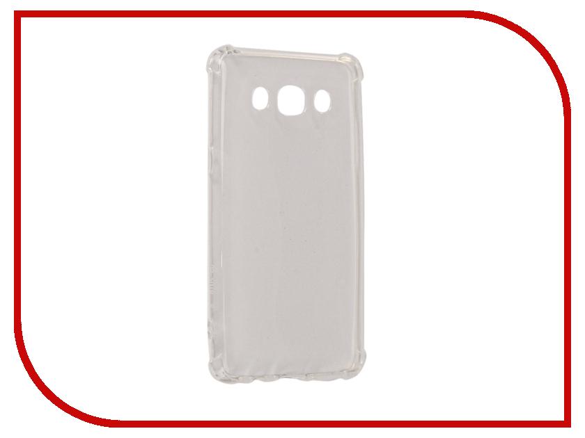 Аксессуар Чехол для Samsung Galaxy J5 J510F 2016 Gecko Silicone Glowing White S-G-SV-SAMJ5-WH